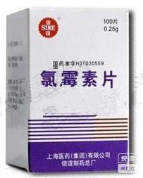 氯霉素片(氯霉素片)