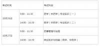湖南人事考试网2019年湖南执业药师考试报名通知